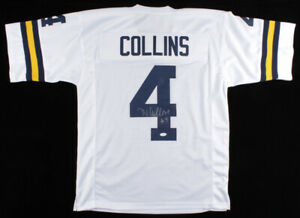Nico Collins Signed Michigan Wolverines Jersey JSA COA 2021 Senior Wide Receiver