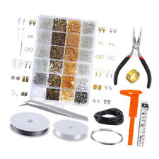 1 Box Jewelry Making Finding Kit Craft Supplies for Bracelet Earring Beading