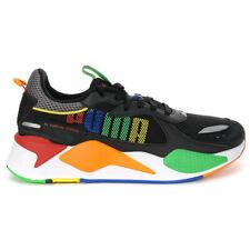Puma Men's RS-X Bold Puma Black/Toucan/Orange Popsicle Sneakers 37271501 NEW!