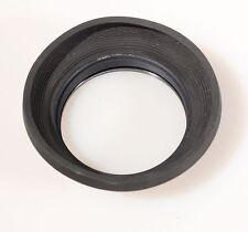 77MM RUBBER LENS HOOD W/UV FILTER