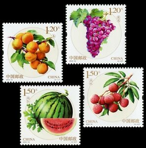 China 2016-18 Fruits I 水果第一组 set MNH