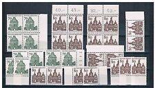 Nicht bestimmte Briefmarken aus der BRD (ab 1948) mit Bauwerks-Motiv