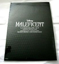 Disney Store Maleficent Lithographs Set of 3 Limited Edition LE 3000 Aurora NEW