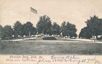 YORK PA – Farquhar Park – udb – 1906