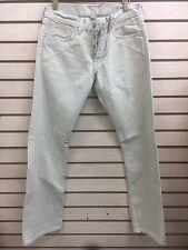 RRL DOUBLE RL Selvedge Slim Bootcut Aged Cream Denim Jeans mens mitsui