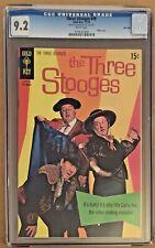 THE THREE STOOGES COMIC BOOK #49  IT'S CURLY JOE DEC 1970 GOLD KEY CGC 9.2 NM-