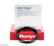 Mamiya RB / RZ LENS MOUNTING RING 77mm (for G-3 BELLOWS LENSHOOD)