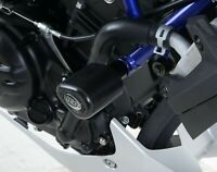 R&G White Aero Crash Protectors for Yamaha MT-03 2017