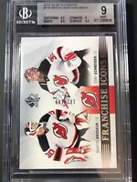 2015-16 SP Authentic Brodeur Schneider Franchise Icons Devils /199 Graded BGS 9
