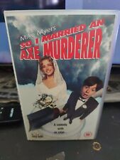 So I Married An Axe Murderer VHS Video Mike Myers