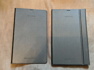 """Official SAMSUNG Galaxy Tab S 8.4"""" Book Cover & Simple cover, Brown/Bronze"""