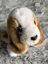 Basset Hound Dog Hush Puppies Dog Wolverine Worldwide White Brown Plush