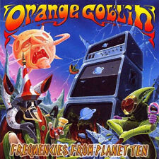 Orange Goblin ‎- Frequencies From Planet Ten CD - SEALED - Stoner Rock Album