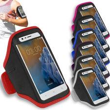 Premium Sports Gym Armband Running Jogging Exercise Workout Holder For Nokia 8.1