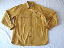 Cabela's Hunting Dog Pointer Chamois Cloth Shirt XL Mens Cotton