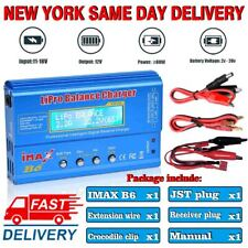 US IMAX B6 Battery Balance Charger For Lion/LiPo/NiC-d And NiMH Batteries