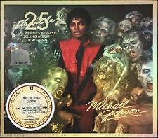 MICHAEL JACKSON Thriller 25th Anniversary MALAYSIA CD+DVD+2D SLIPCASE FREE SHIP