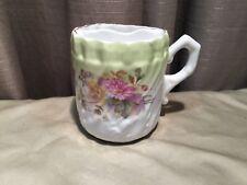 Antique/Vintage Early 1900's Porcelain Floral Mustache Cup/Mug