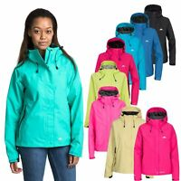 Trespass Womens Waterproof Jacket Hooded Raincoat Ladies XXS-XXL