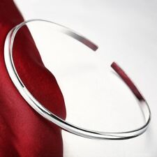 925 Sterling Silver Jewelry 3mm SkinnyV- w/clasp Choker/Collar/Necklace/Wire