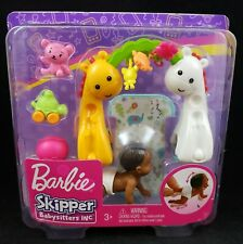 Barbie Skipper Babysitters Inc. Crawling and Playtime Playset with Baby Doll AA