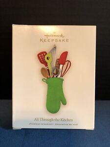 Hallmark Keepsake Ornament All Through the Kitchen 2008 Used In Box