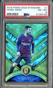 2019 Panini Gold Standard Lionel Messi /129 PSA 8 NM-MT #1