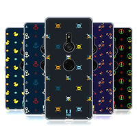 HEAD CASE DESIGNS TINY PIXEL PRINTS SOFT GEL CASE FOR SONY PHONES 1