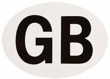 GB Window Sticker Car Van Self Adhesive Vinyl Oval Decal Travel Abroad Euro Home