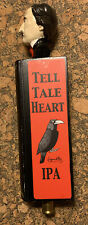 Raven Brewing Tell Tale Hearty Ale Rare Edgar Allen Poe Beer Tap Handle