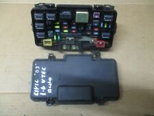 HONDA CIVIC MK7 1.6 D16V1  AUTO PETROL ENGINE BAY FUSE & RELAY BOX FROM 2003