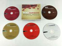 Coffret 5 CD  100 Chansons Francaises  Envoi rapide et suivi