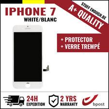 A+ LCD VITRE TACTILE DISPLAY SCHERM ÉCRAN WHITE BLANC &VERRE TREMPÉ FOR IPHONE 7