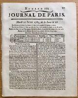 Électricité en 1785 Vienne Couvent de la Providence Bleton Trianon SteColombe