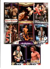 Motor City Machineguns Wrestling Lot of 8 Different Trading Cards WWE TNA MCM-B1