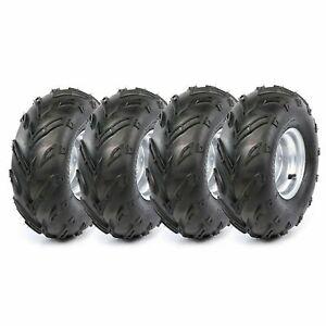 "4PC ATV Tyre 16x8-7 Front Rear 7"" Wheels 16x8 - 7"" inch 110cc 125cc Buggy GoKart"