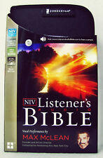 NEW International Version Audio Bible 65 CD NIV Max Mclean Old and New Testament