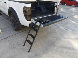 Pickup Truck Step Foot Tailgate Ladder Fit for Ranger Navara HiLux D-max