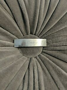 Vintage Sterling Silver Barrette with MARY Monogram