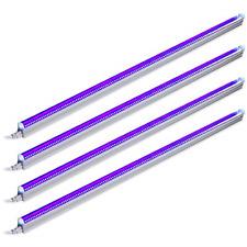 Barrina UV LED Blacklight bar 22w 4ft T5 Integrated Bulb Black Light Fixture for
