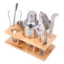 Stainless Steel Cocktail Shaker Mixer Drink Bartender Martini Tools Bar Set Kits