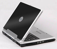 3D CARBON FIBER Vinyl Lid Skin Decal fit Dell Inspiron 1501 E1505 6400 Laptop