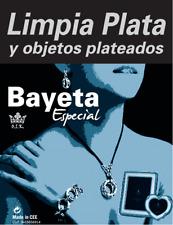 Bayetas limpia Plata , Bayeta especial de 18 cm  x 24 cm.