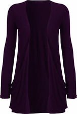 New Look Womens Ladies Long Sleeve With Pockets Boyfriend Cardigan UK Size 8-24