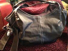Ion Large Soft Black Faux Leather