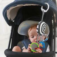 Cartoon Baby Toys Bed Stroller Mobile Hanging Rattles Newborn Plush Toy