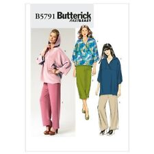 Butterick Patterns B5791 Misses' Top, Tunic and Pants, Size Y (XSM-SML-MED)