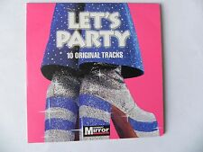 LET`S PARTY PROMO CD WILD CHERRY BANGLES WEATHER GIRLS ADAM & THE ANTS + MORE