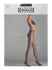 NEW Wolford Tights Sonya Tights Size L Black