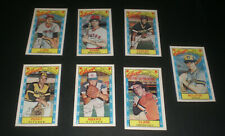 1979 KELLOGGS CARDS - YOUR CHOICE $4 - PERRY - MOLITOR - PARKER - LYNN - EVANS